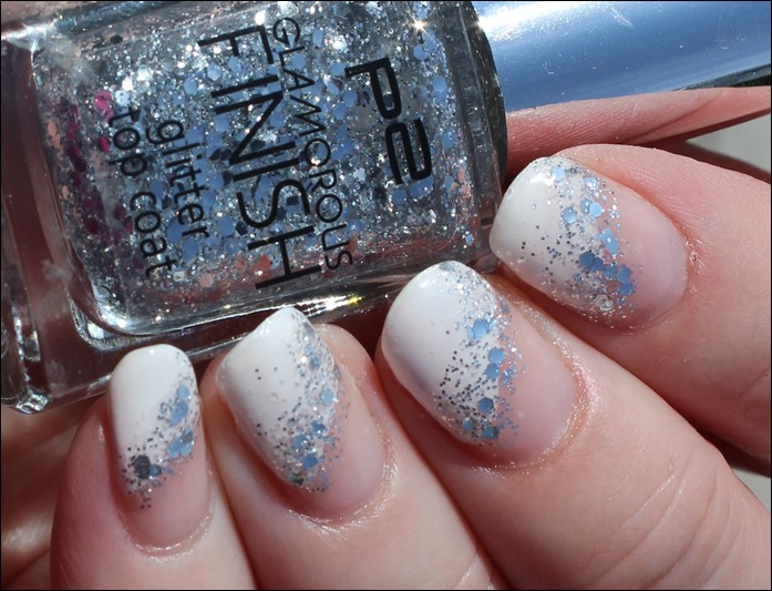 Nail Art Glitter French 00