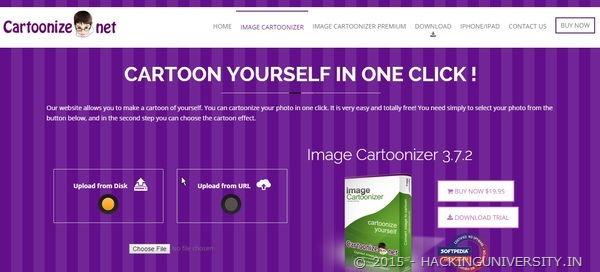 cartoonize online tool