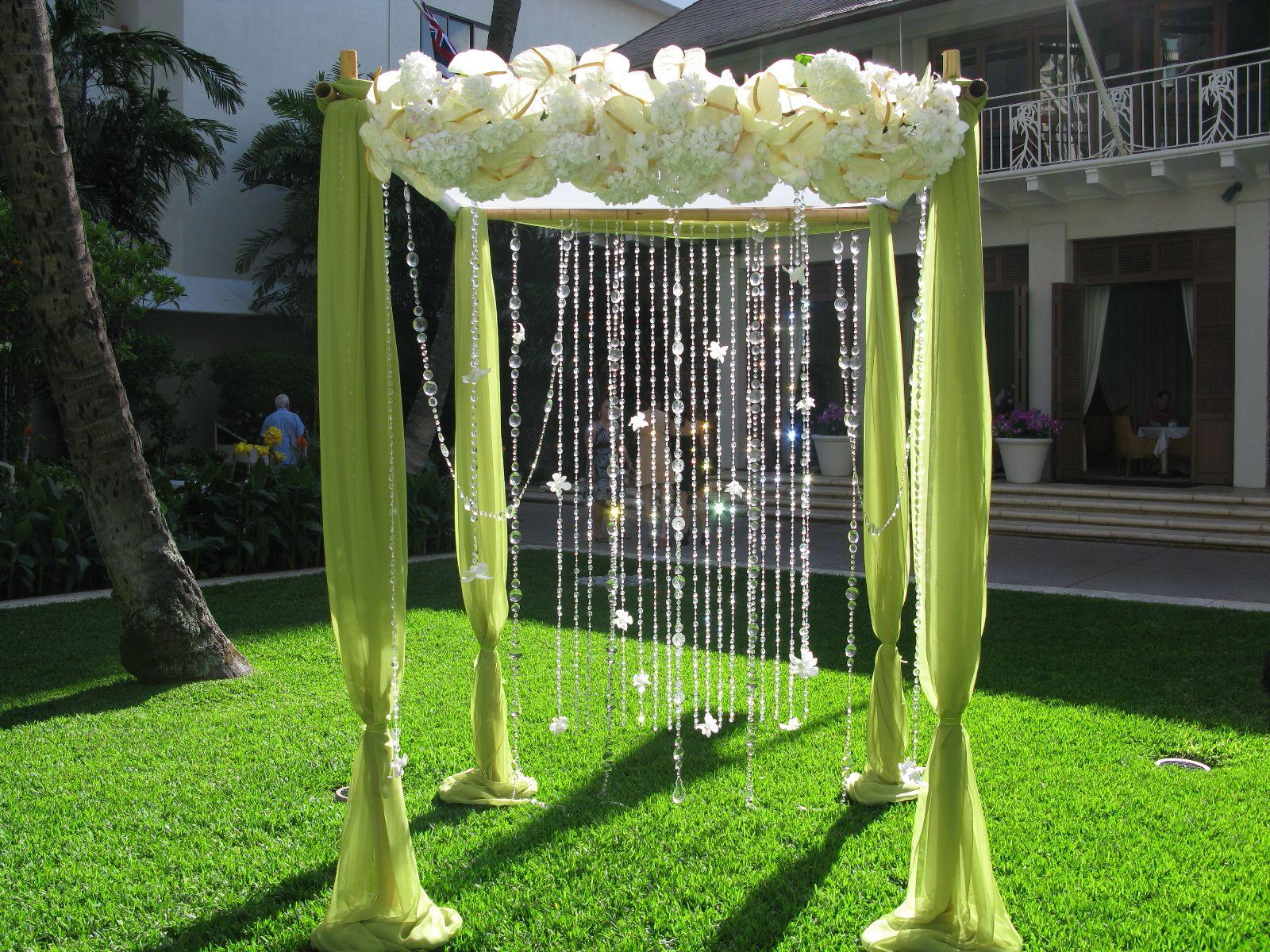 Hanging Crystals, kiwi fabric,