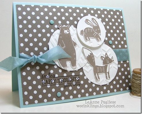LeAnne Pugliese WeeInklings Thankful Forest Friends All Boxed Up Stampin Up