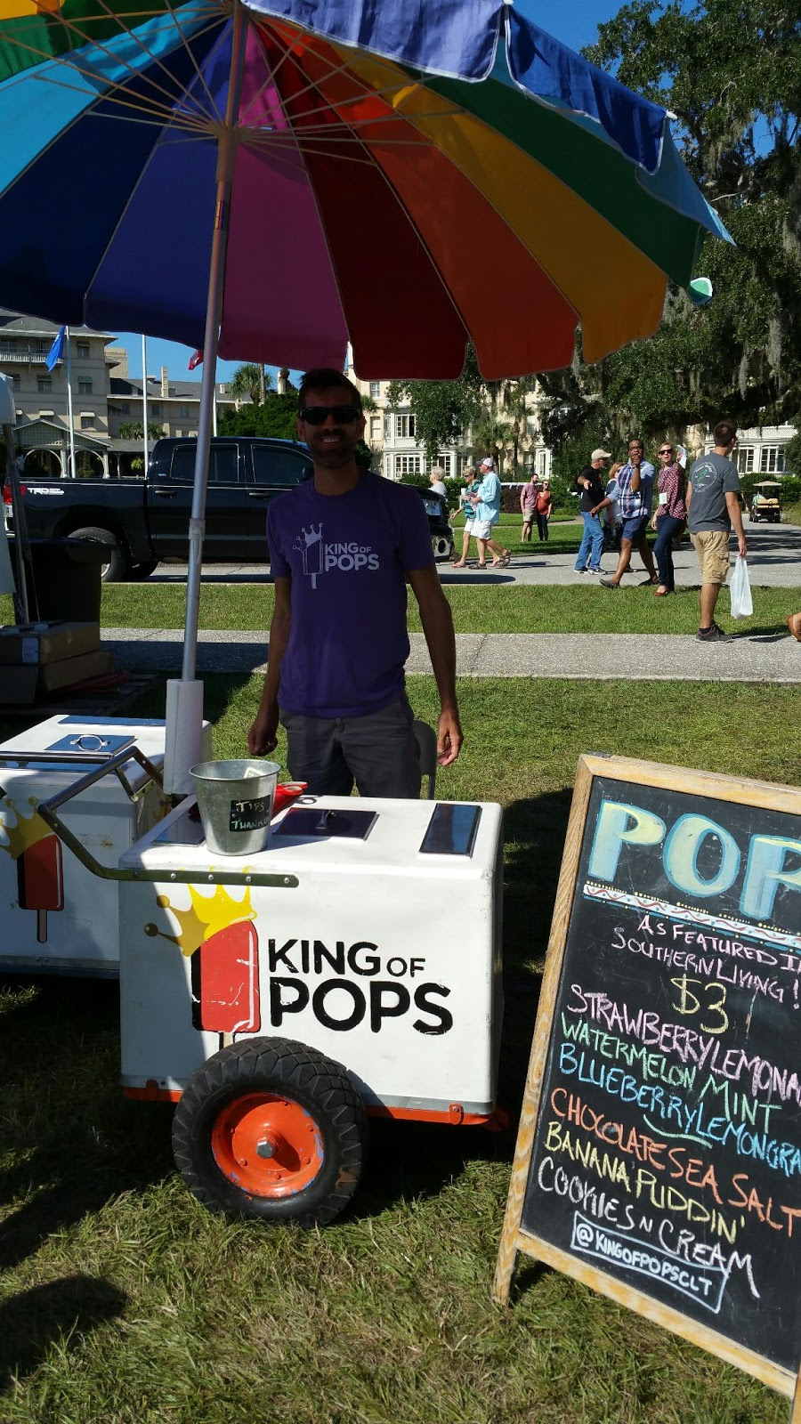 King of Pops Shrimp and Grits Festival Jekyll Island 2015
