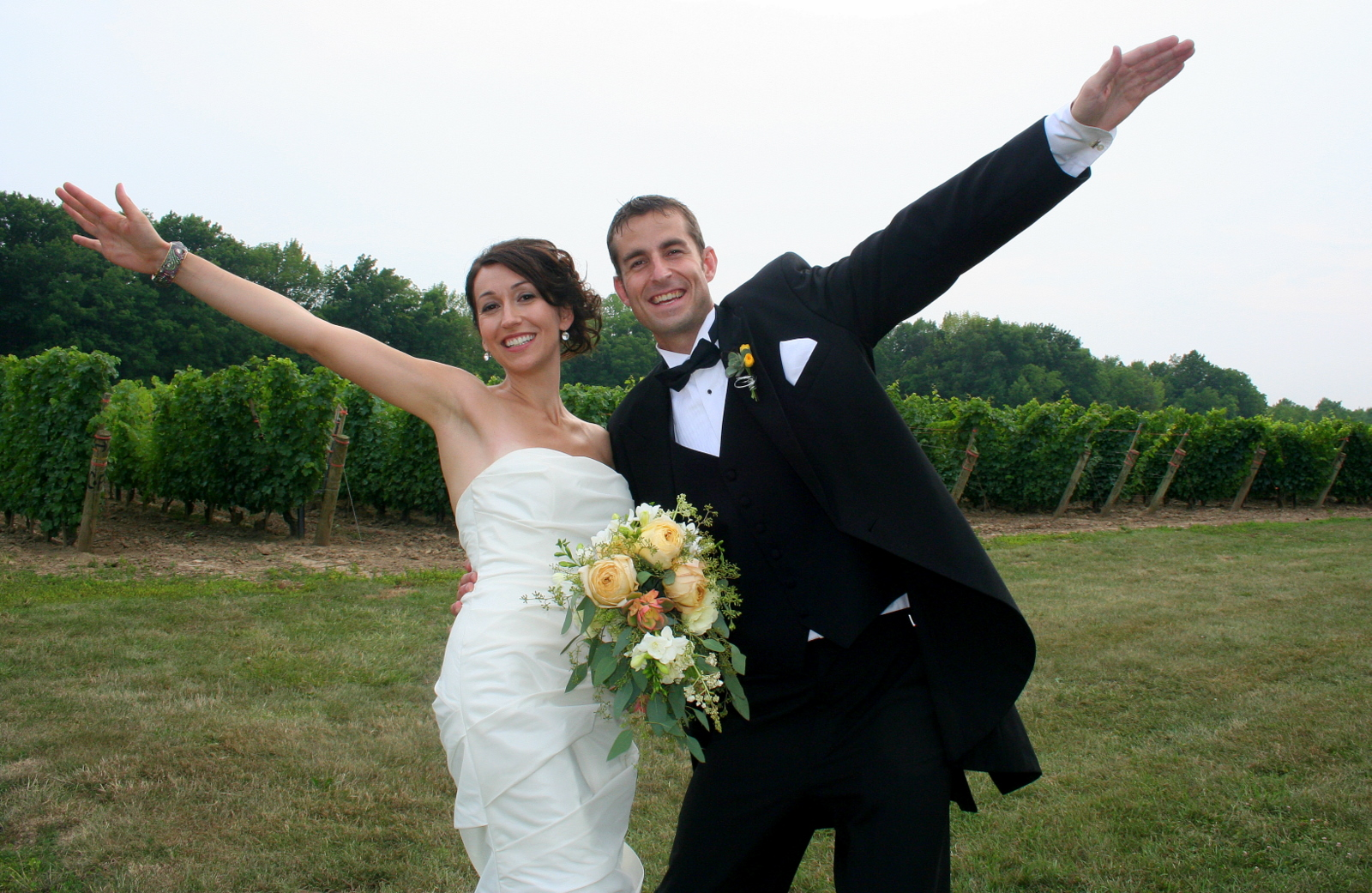 garden themed wedding that