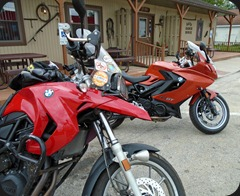 Annual b-day ride w/Dave