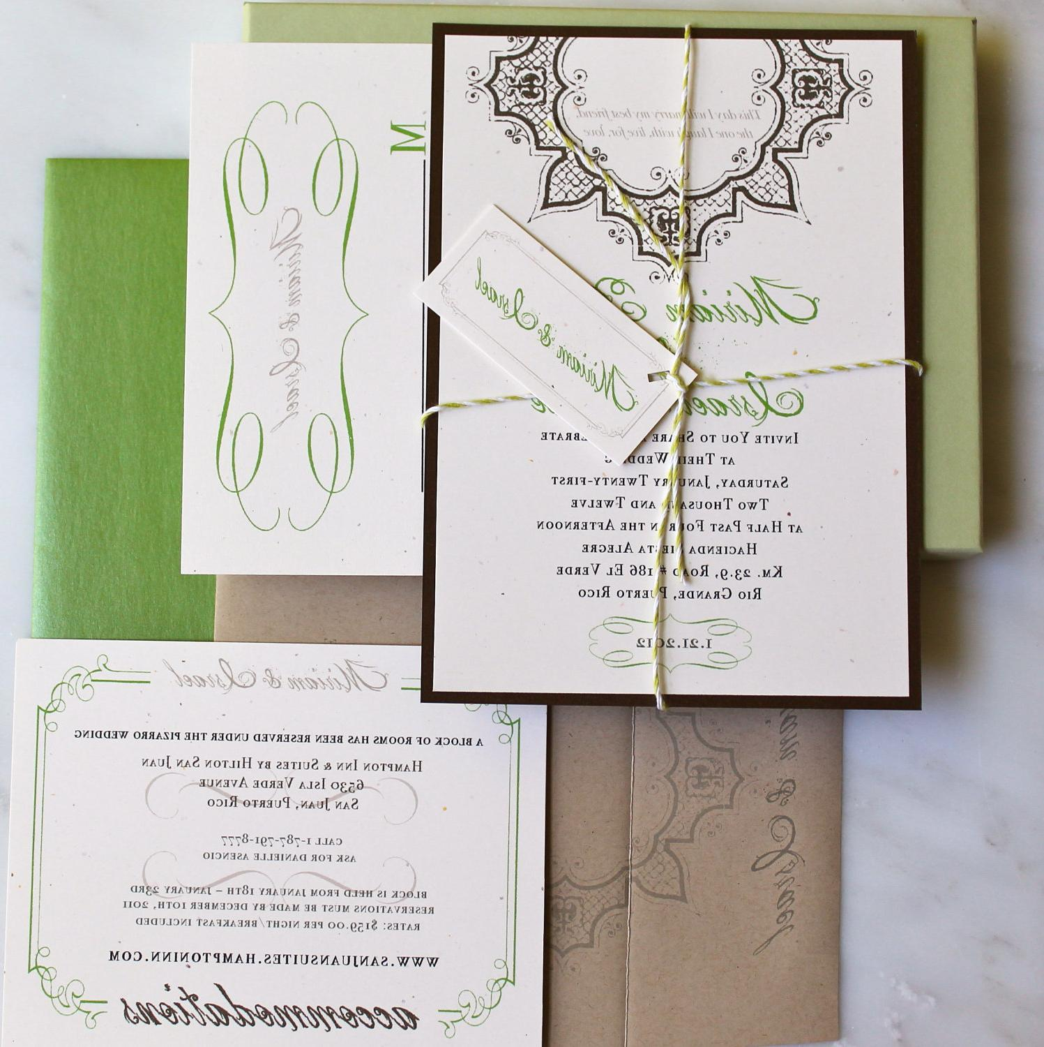 Wedding Invitation Suite,