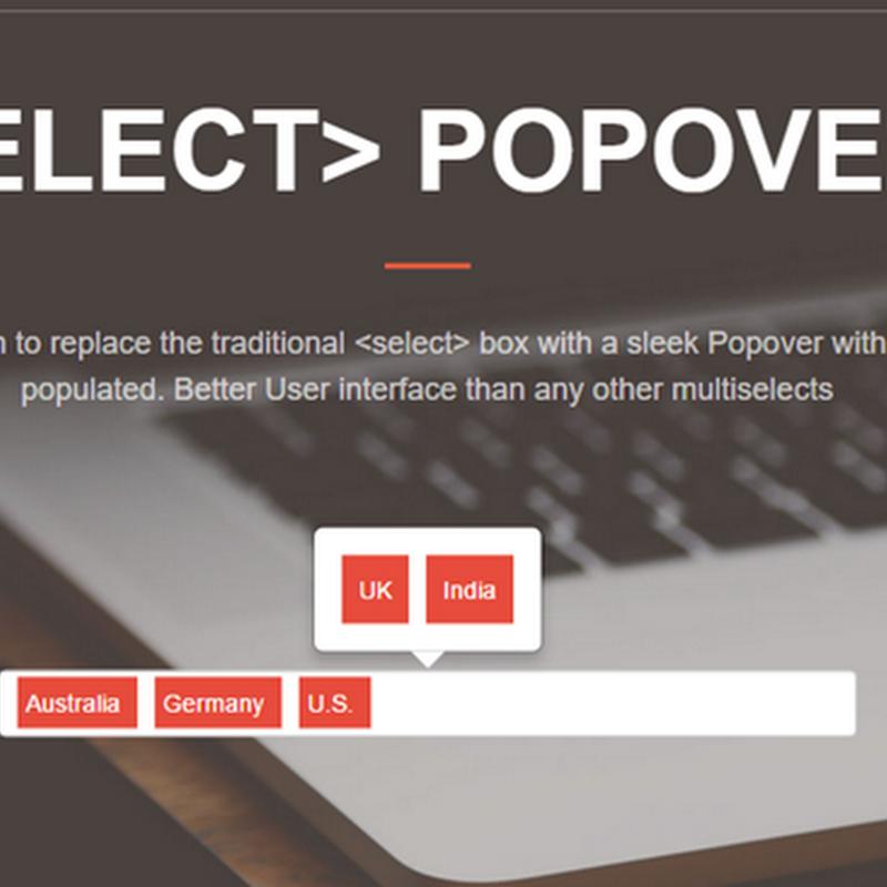 PopSelect, una nueva forma de usar la etiqueta select