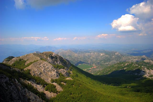 Вид с горы Ловчен