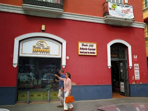 Loja de chapéu em Sevilha