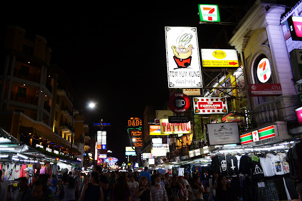 каосан роад бангкок