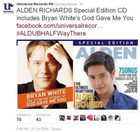 Alden Richards Special Edition album