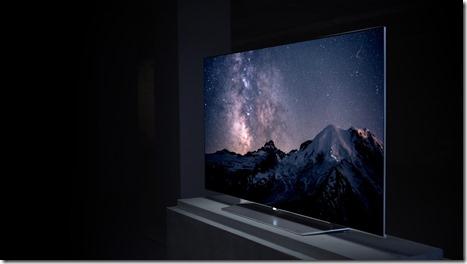 LG OLED 4K televisio