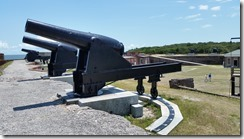 Fort Clinch Cannons