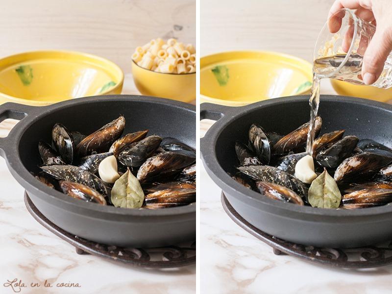 pasta-con-mejillones-paso-a-paso-1