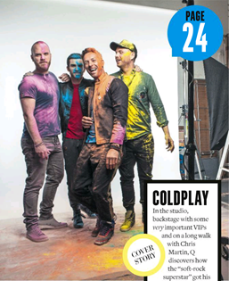 Q Magazine Coldplay 0