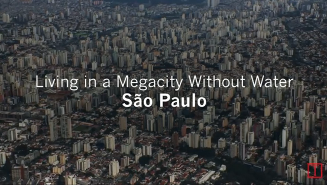 Screenshot from the TIME story, 'A Megacity Without Water: São Paulo's Drought', 13 October 2015. Photo: TIME