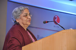 Mrs Gursharan Kaur speaking on the occasion