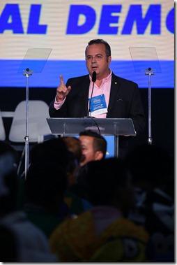 Rogério na convenção nacional do PSDB 2