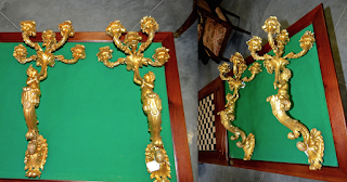 Бронзовые настенные светильники. ок.19-й век. Две штуки. 4500 евро.