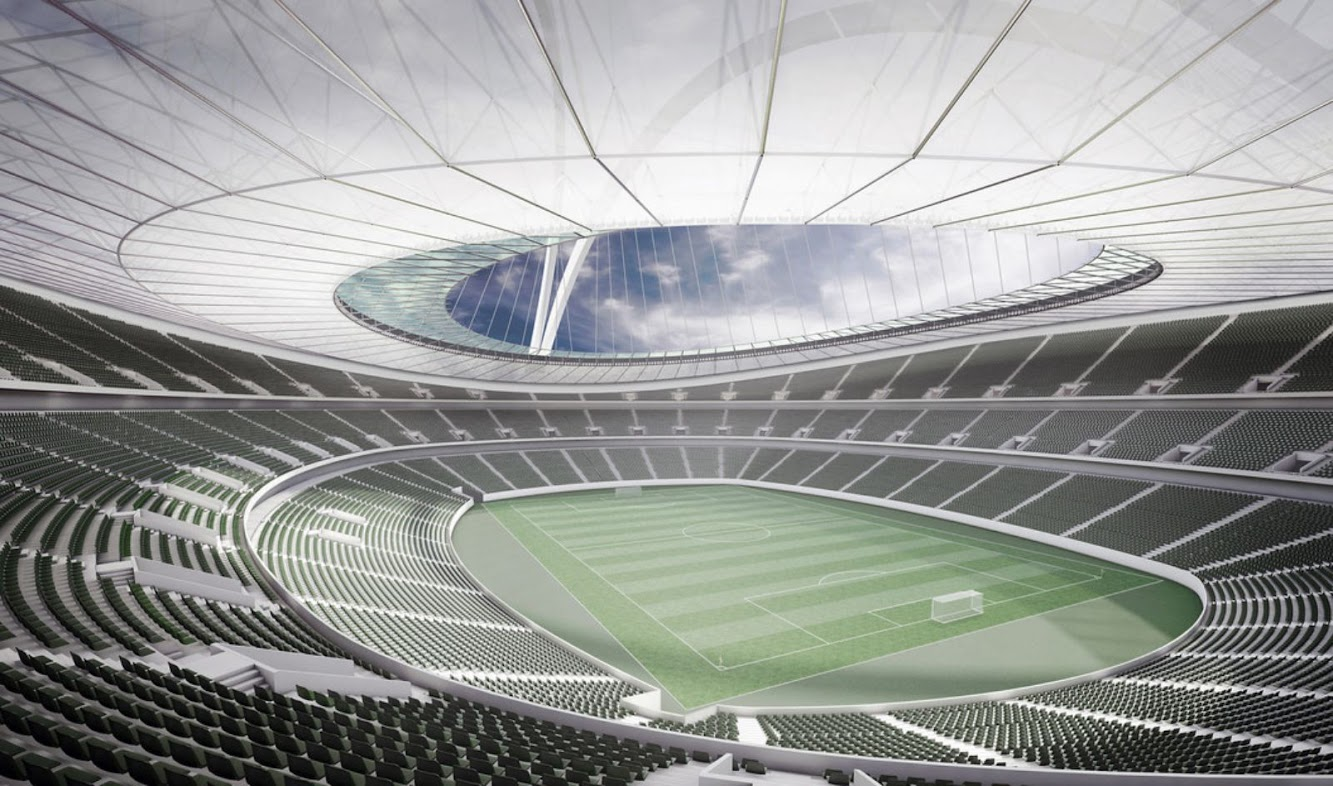 New Football Stadium by gmp Architekten