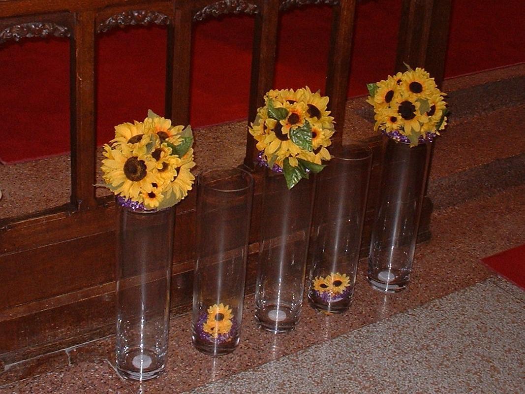 an altar or a head table