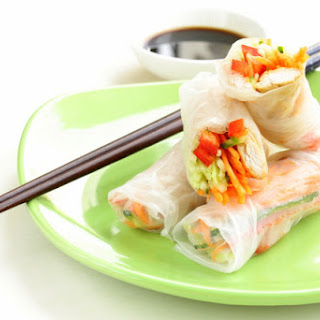 Rice Paper Spring Rolls Chicken Recipes
