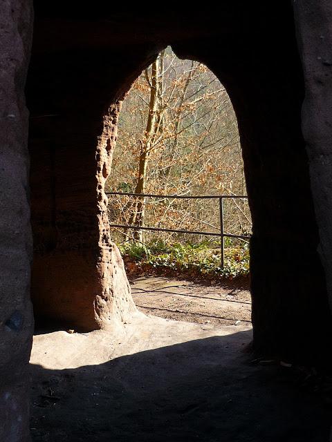 Château ouvert à tous les vents, et au soleil en ce jour de printemps (20 mars 2011)