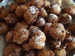 Oliebollen Dutch Doughnuts Baking With Eda