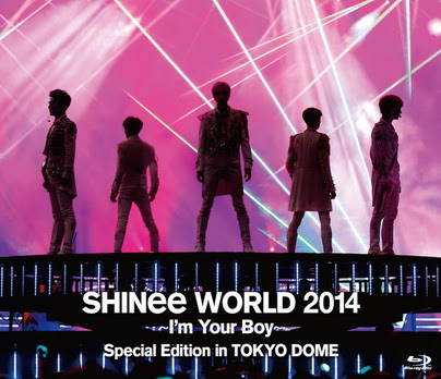 [TV-SHOW] SHINee WORLD 2014~I'm Your Boy~ Special Edition in TOKYO DOME (2015/07/01) (BDRIP)