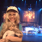 Hannah and Paige at the Andy Williams Moon River Theater in Branson MO 08182012