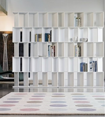 Bookshelf design cool