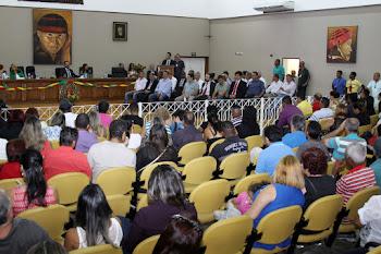 Sessão Solene abre comemorações de aniversário da cidade