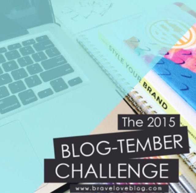 BLOGTEMBER DAY 1: Hello, My Name Is _______