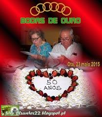 Bodas Ouro - M. Augusta-Lucio (22.05.15)