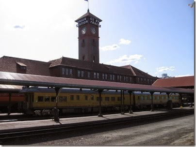 IMG_6105 Union Pacific Business Cars at Union Station in Portland, Oregon on May 9, 2009