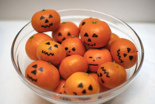 recetas-halloween-faciles-mandarinas-fruta-calabaza