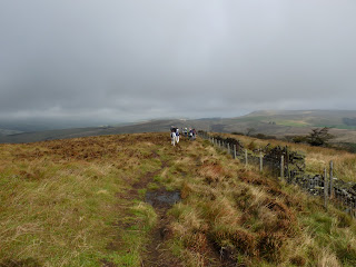 Heading away from Burbage Edge Trig Pillar
