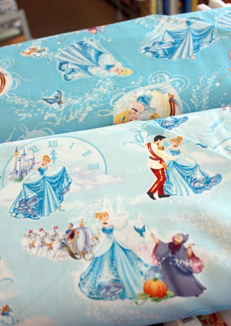 Disney Princess fabric 4