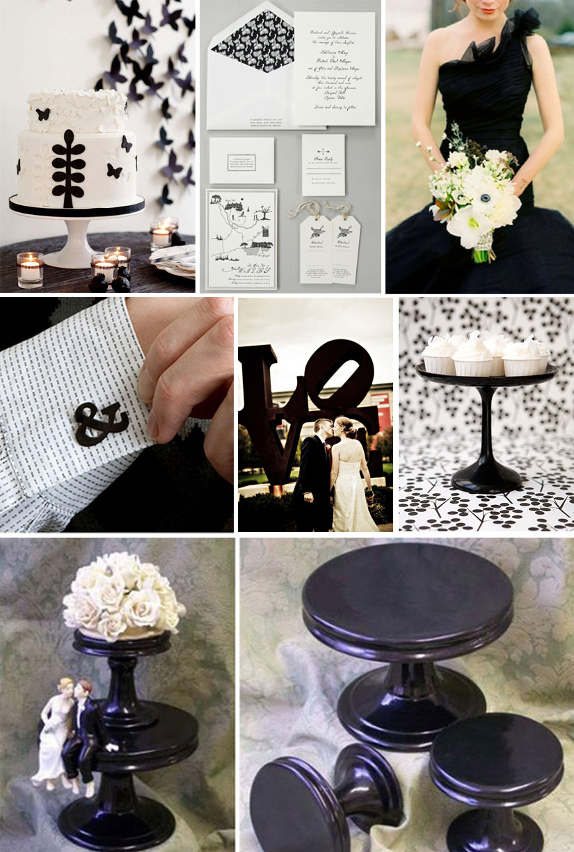 Classic Black & White Weddings