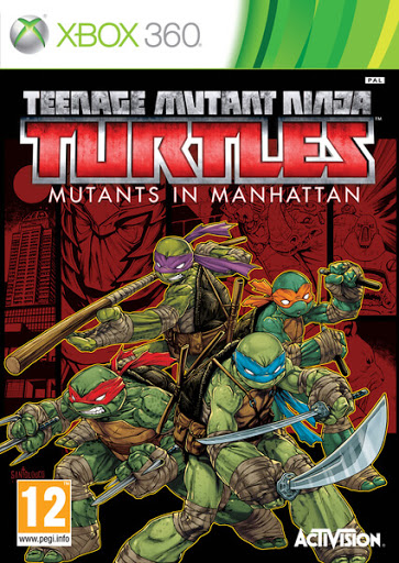 [GAMES] Teenage Mutant Ninja Turtles Mutants in Manhattan (XBOX360/Region free)