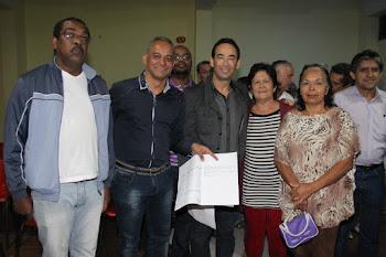 Chico Brito anuncia início das obras de recapeamento no Parque Luiza