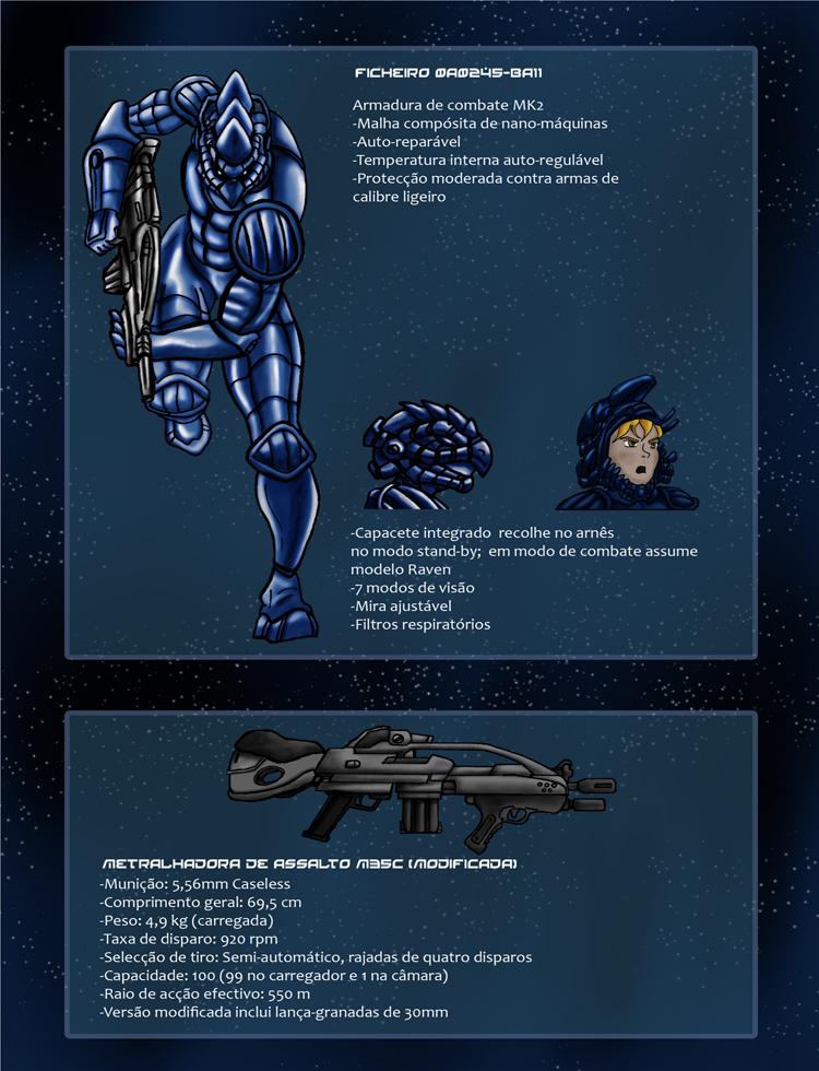 Protector da Fé - Ficha Técnica: Armas & Armaduras