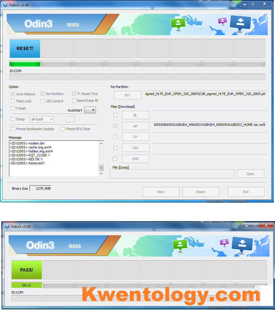 Image of How to Flash Samsung Galaxy Note 3 N9005 LTE 32GB using Odin
