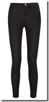 J Brand high rise skinny stretch jeans
