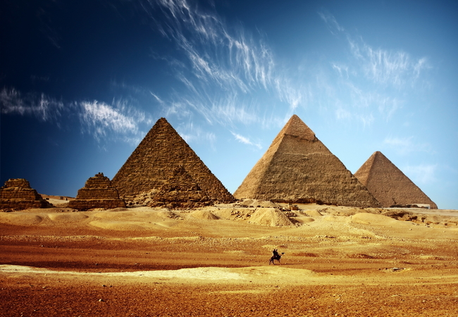 Image of The Pyramids of Giza