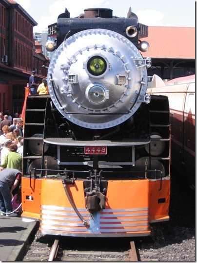 IMG_2831 Southern Pacific Daylight GS-4 4-8-4 #4449 at Union Station in Portland, Oregon on May 8, 2010