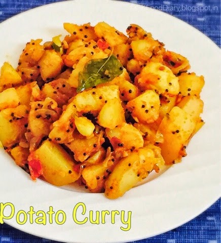 Potato Curry Recipe in South Indian Style