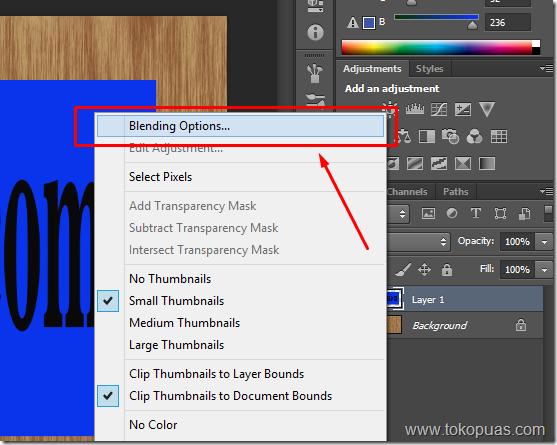 trik tutorial kayu photoshop layer style