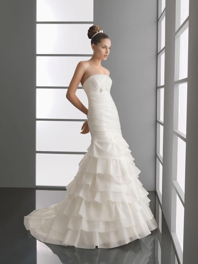 Modest Romantic Bridal Gown