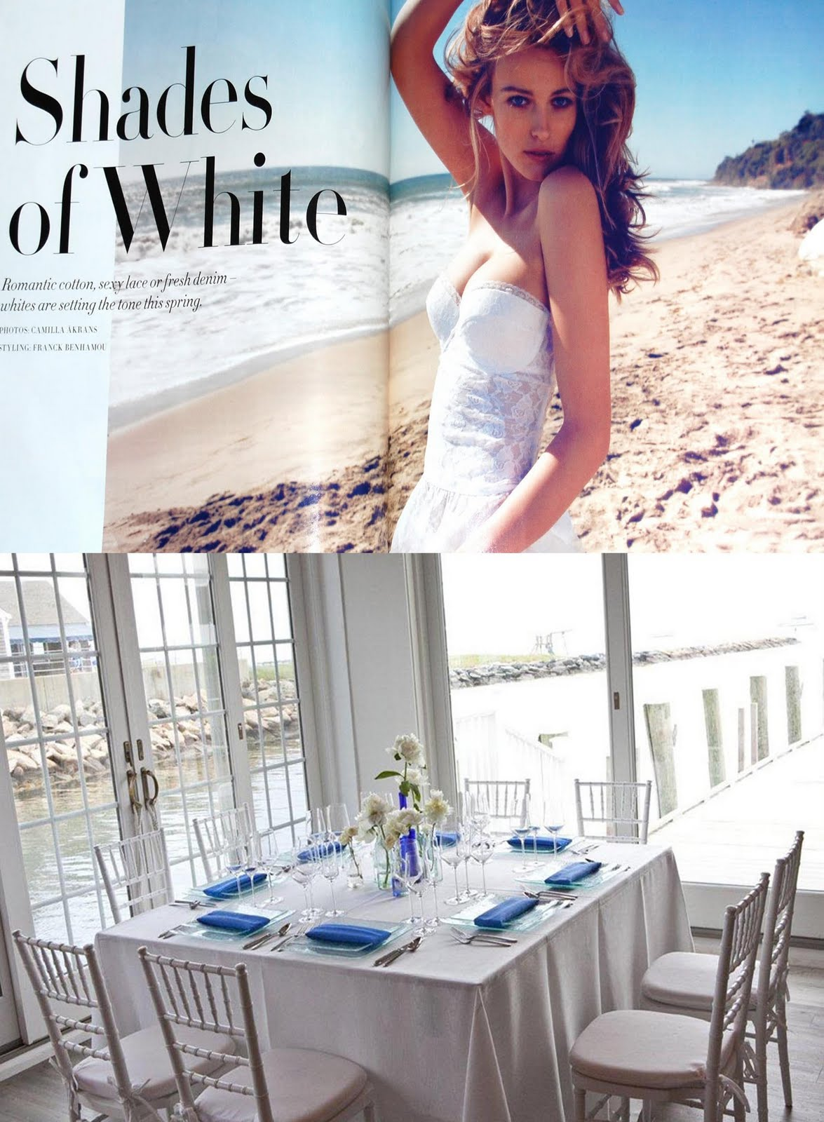 beach wedding table trends