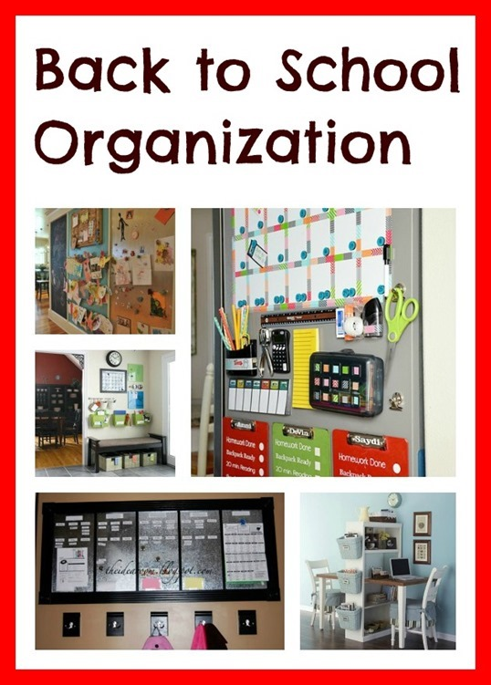 Back to School Organization1