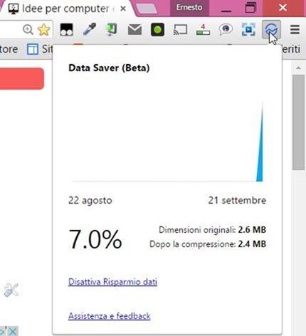 data-saver-risparmio